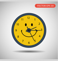 clock icon eps 10 vector image