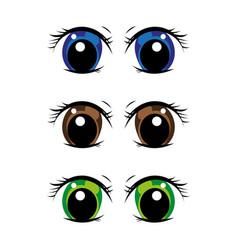 eye2 vector image