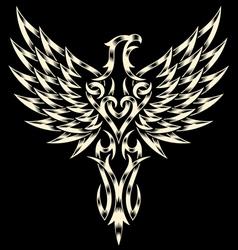 Heraldry eagle vector