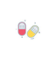 medical medicine health icon desige vector image