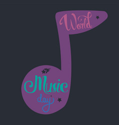 music is life vector image