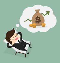 passive income vector image
