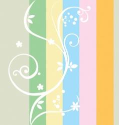 Rainbow composition vector