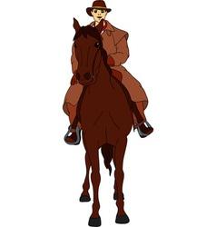 Rider horse vector