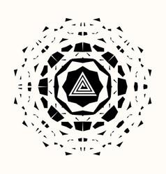 sacred geometry 0119 vector image