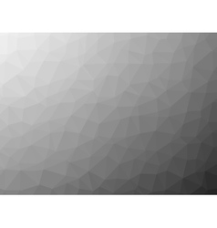 Shades of grey low poly background vector image