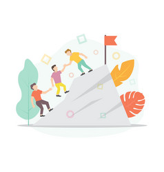 teamwork business concept for vector image