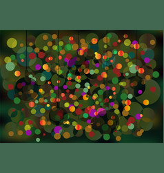 greeting card bright new-year backg vector image vector image