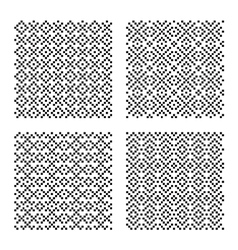 Geometrical seamless patterns vector image vector image