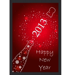 New Year 2013 card vector image vector image