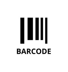 Barcode icon design template isolated vector