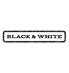 Black white watermark stamp vector