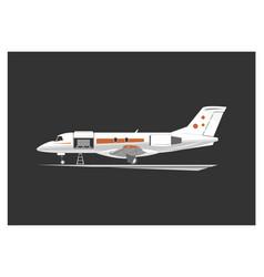 cargo aircraft vector image