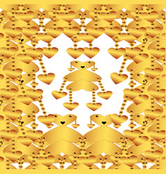 Creative patterned texture vector