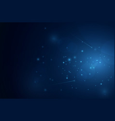 dust particles background vector image