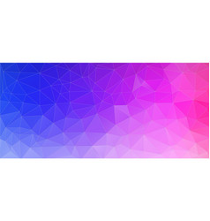 flat triangle bright gradient background vector image