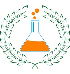 glory of chemistry vector image