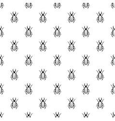 Lucanus cervus pattern vector