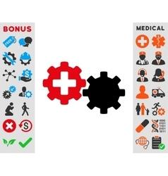 Medical Process Icon vector