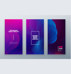 Vertical stories sale banner background for social vector