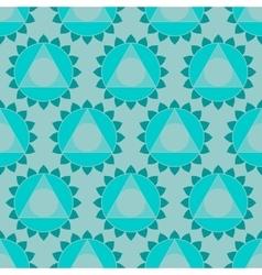 Ethnic Indian geometric seamless pattern vector image