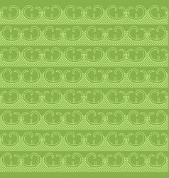 greenery retro seamless pattern background vector image vector image
