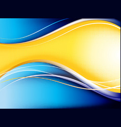 Contrast wave background vector