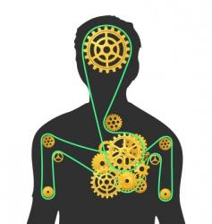Human machine vector