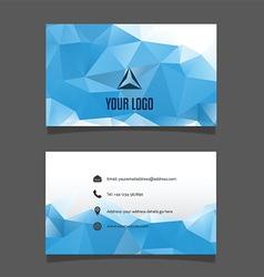 Modern business card design 0102 vector
