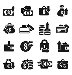 Money an icon5 vector