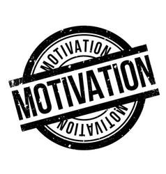 Motivation rubber stamp vector