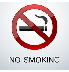 No smoking background vector image