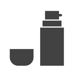 Shaving cream vector