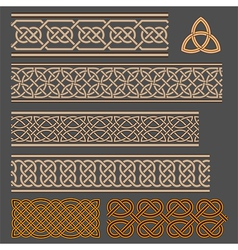 Celtic knots vector image vector image