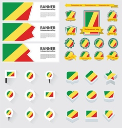SET republic of the congo vector image
