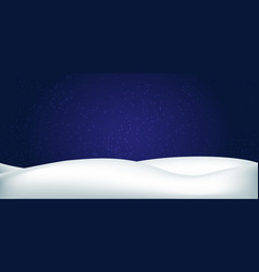 winter decoration for a banner vector image