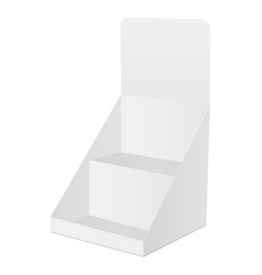 blank display box vector image