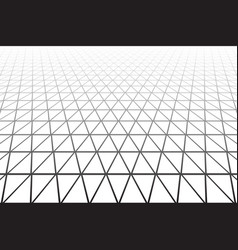 Geometric texture perspective view vector