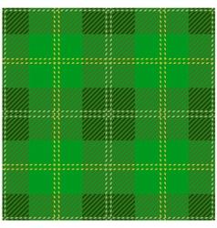 Green Scottish Tartan Design vector