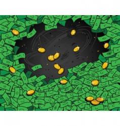 Money wallpaper vector