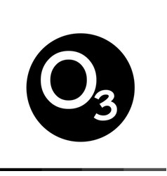 Ozone icon design vector