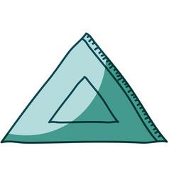 aquamarine hand drawn silhouette of rule squad vector image