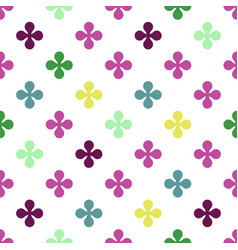 Abstract colourful background with flowers vector