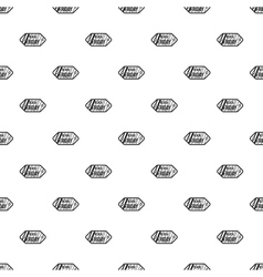 Black Friday sale tag pattern simple style vector
