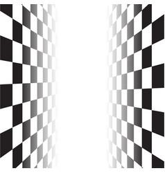 Black white random square mosaic tiles chess vector