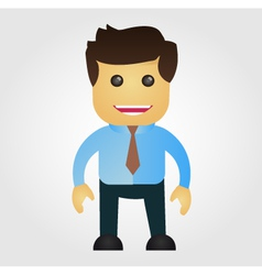 Business man cartoon vector