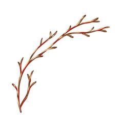 Dry branch vector