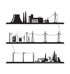 Electrical power grid vector
