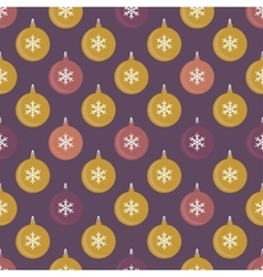Seamless pattern with balls for packaging textile vector image