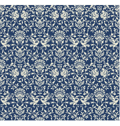 Seamless victorian pattern vector
